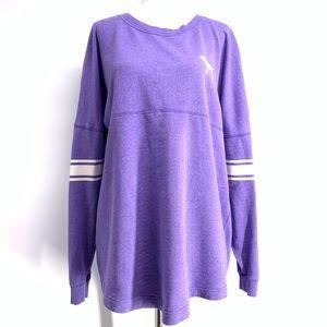 PINK Victoria's Secret Jersey Sweatshirt Medium